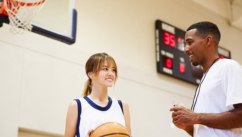 Basketball coaching at high school