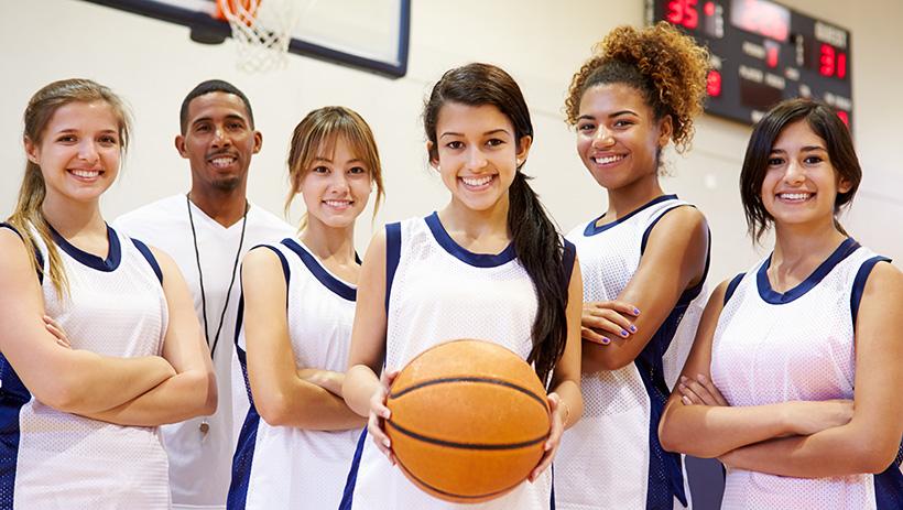 Get into school basketball coaching